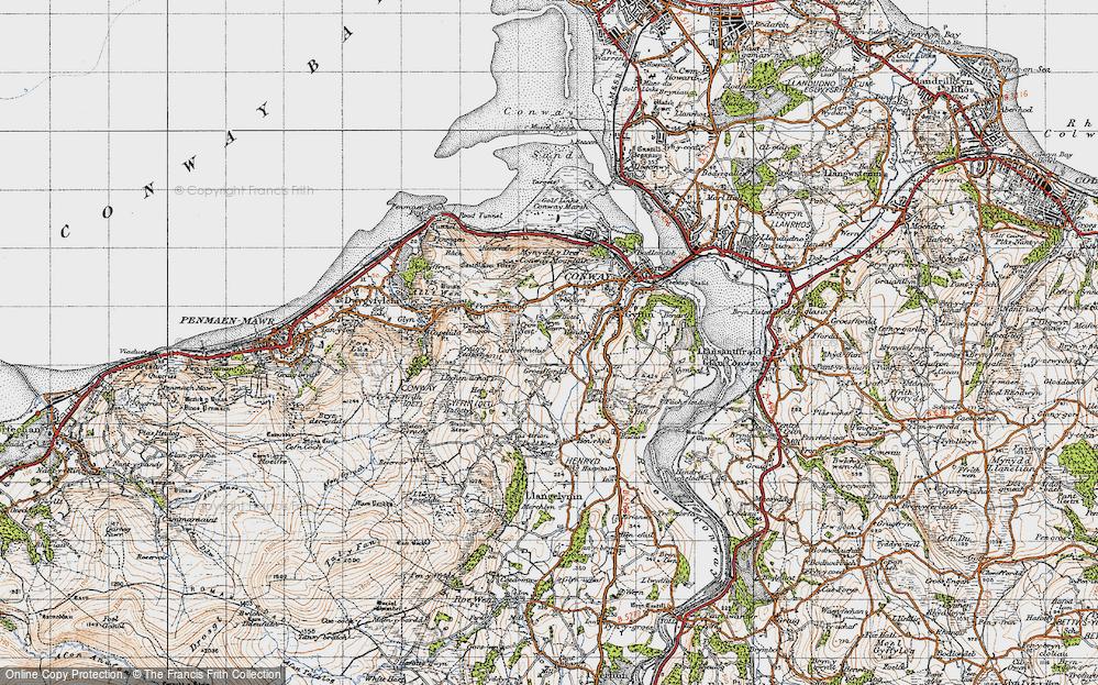 Llechwedd, 1947