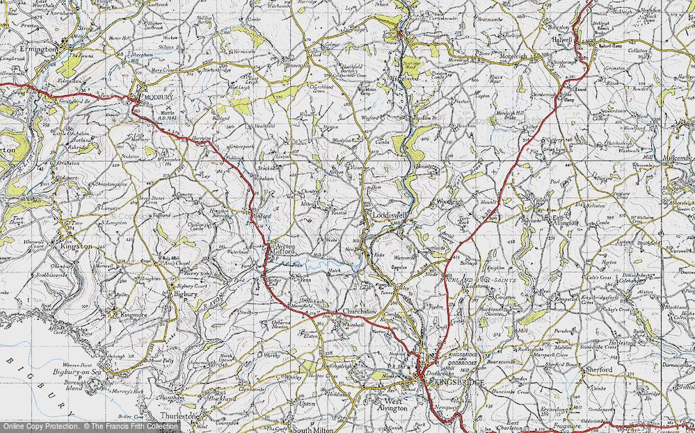Loddiswell, 1946