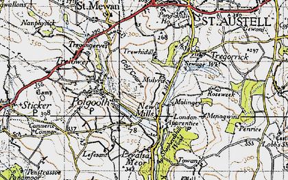 Old map of London Apprentice in 1946