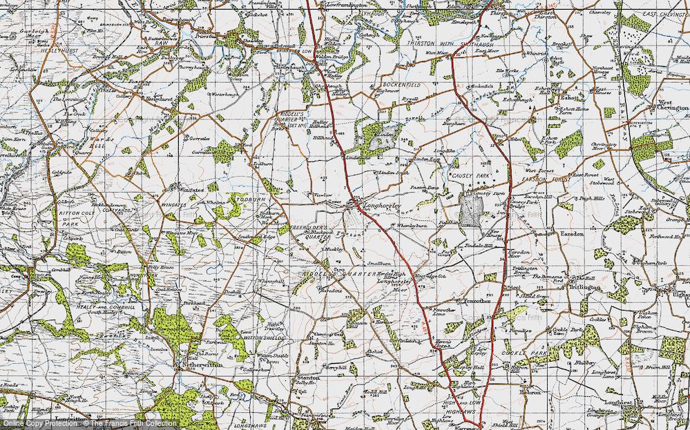 Longhorsley, 1947