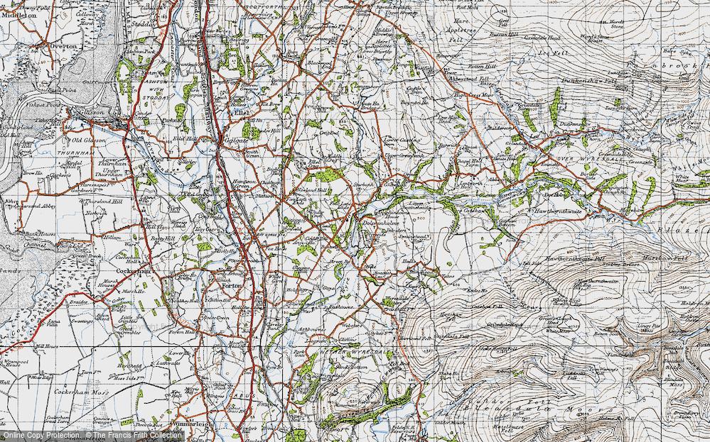 Lower Dolphinholme, 1947