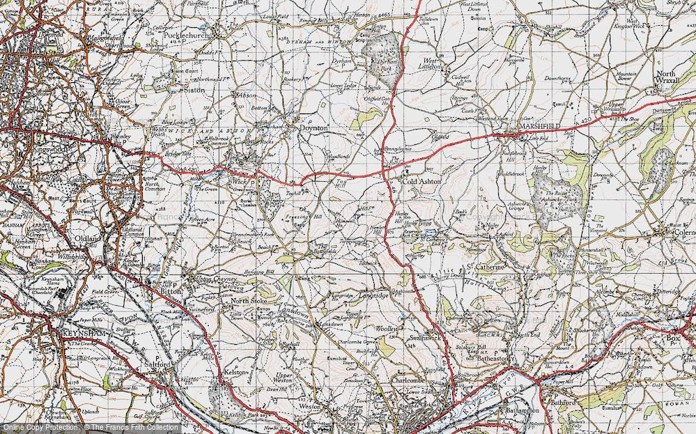 Lower Hamswell, 1946