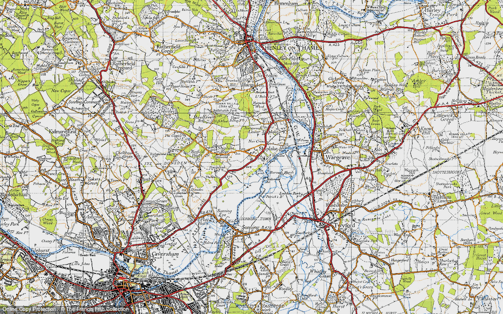 Marsh Lock, 1947