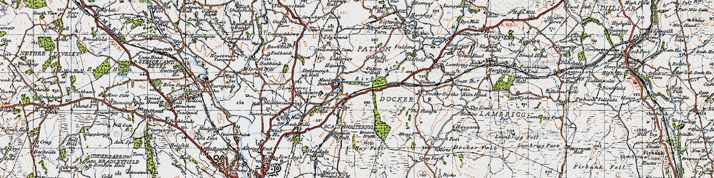 Old map of Laverock Bridge Ho in 1947
