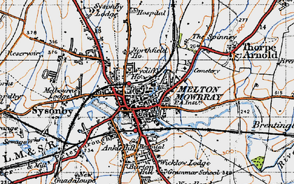 Melton Mowbray photos maps books memories Francis Frith