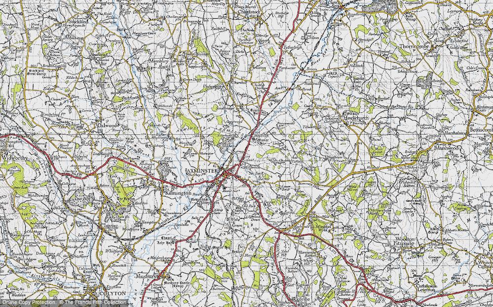 Millwey Rise, 1945