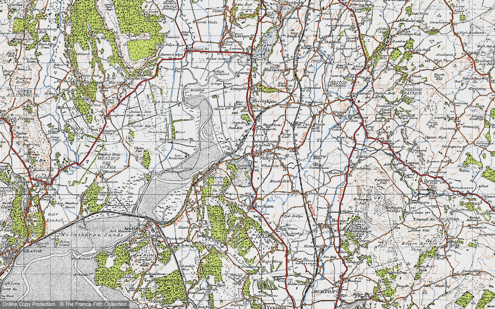 Old Map of Milnthorpe, 1947 in 1947