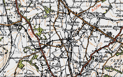 Old map of Westlakes Science Park in 1947