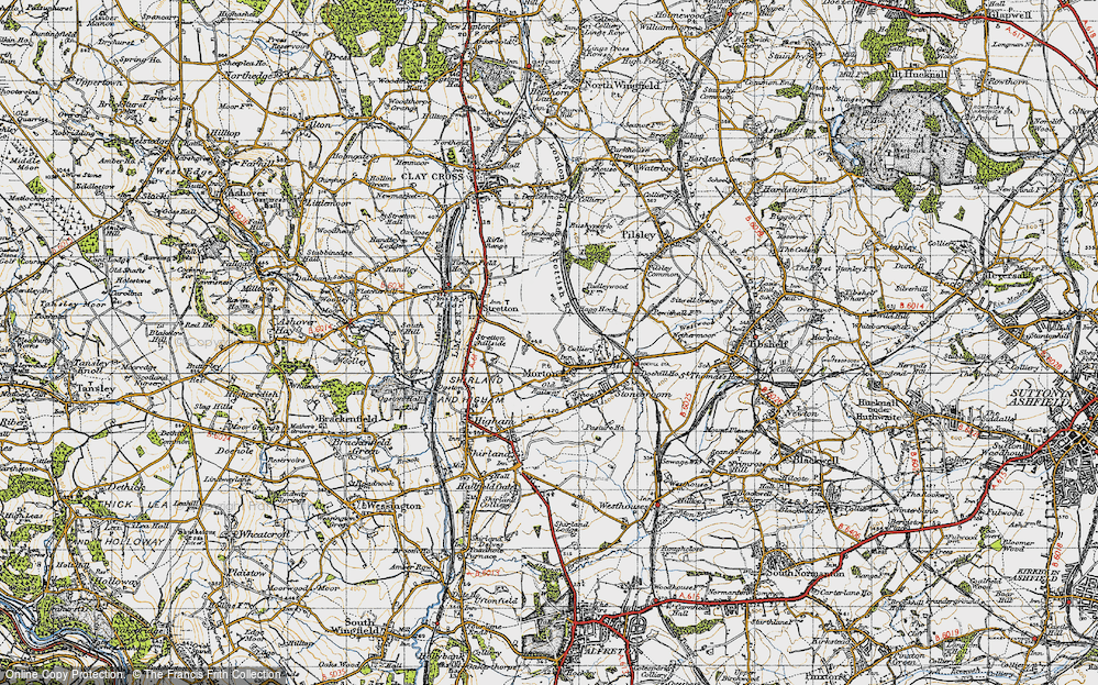 Old Map of Morton, 1947 in 1947