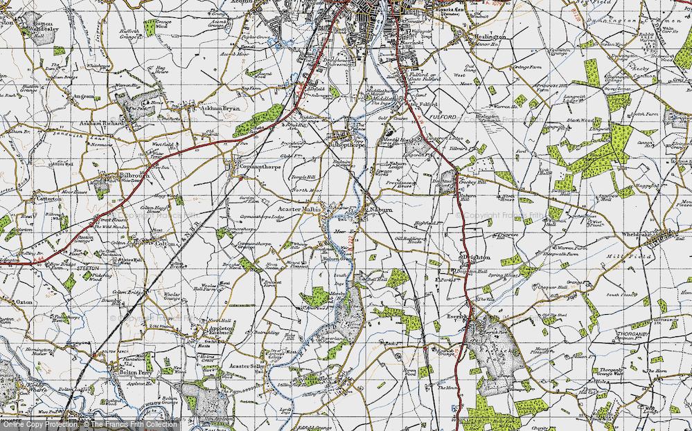 Old Map of Naburn, 1947 in 1947