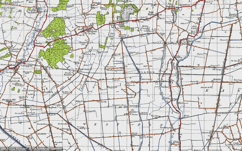 Old Map of New Bolingbroke, 1946 in 1946