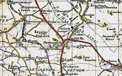 Old map of Aleck Low in 1947