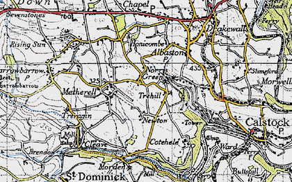 Old map of Norris Green in 1946