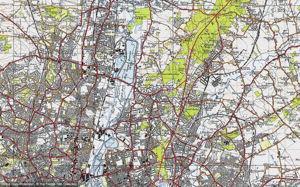 North Chingford, 1946