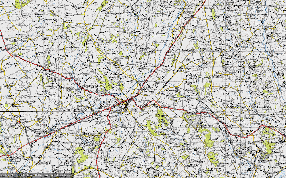 Old Map of Northcote, 1946 in 1946