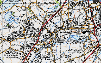 Old map of Northfield in 1947