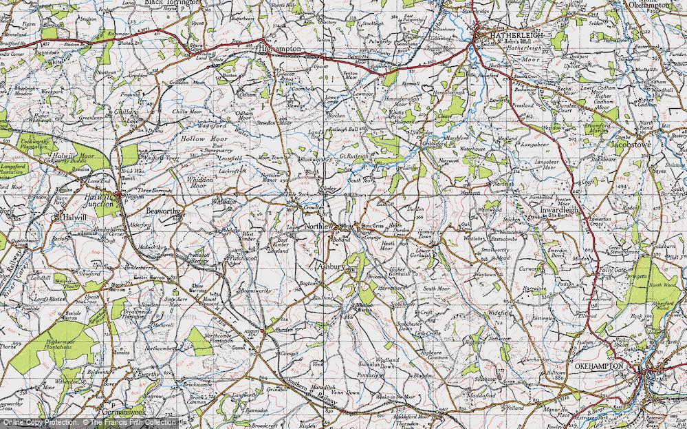 Northlew, 1946