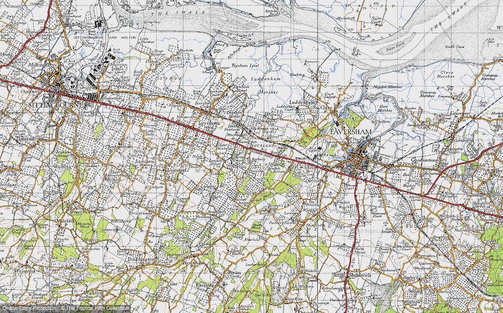 Old Map of Norton Ash, 1946 in 1946