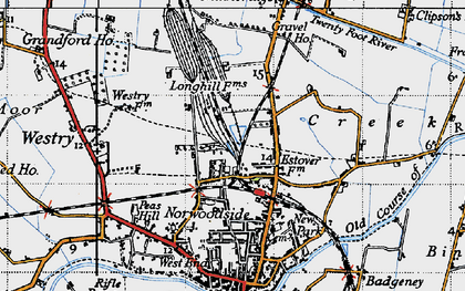 Old map of Norwoodside in 1946