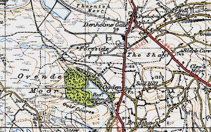 Old map of Ogden in 1947