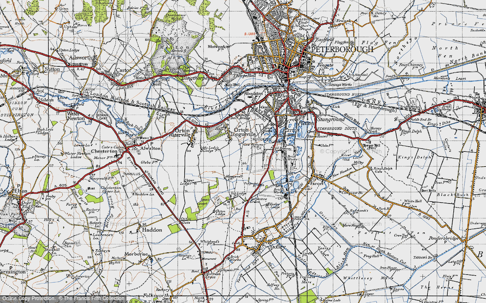 Old Map of Orton Malborne, 1946 in 1946