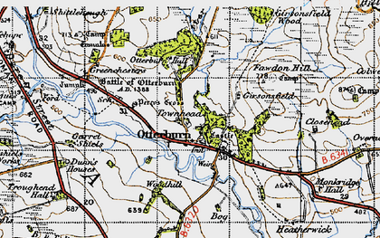 Old map of Tilesheds in 1947