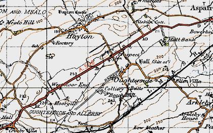 Old map of Tilekiln Cott in 1947