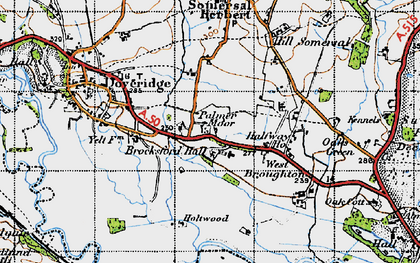 Old map of Palmer Moor in 1946