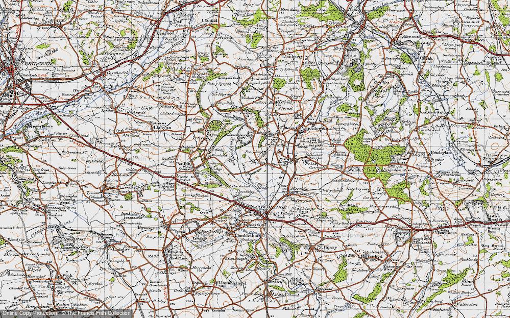 Old Map of Pen-y-lan, 1947 in 1947