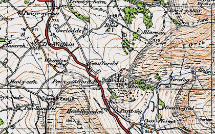 Old map of Whole Ho in 1947
