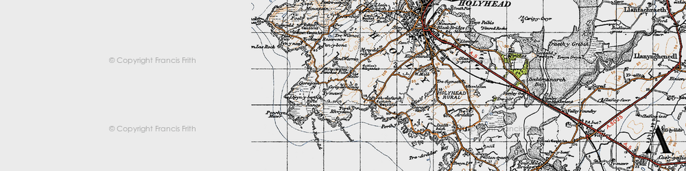 Old map of Abraham's Bosom in 1947