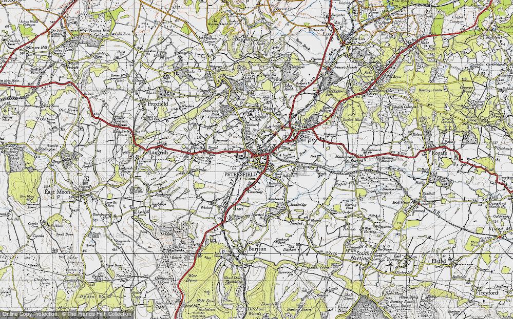 Petersfield, 1945