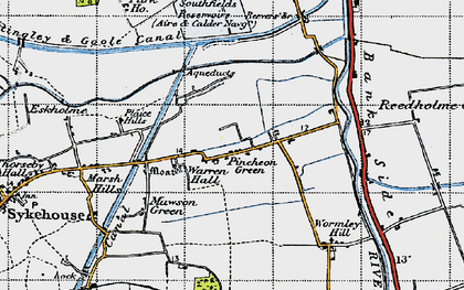 Old map of Wormley Hill in 1947