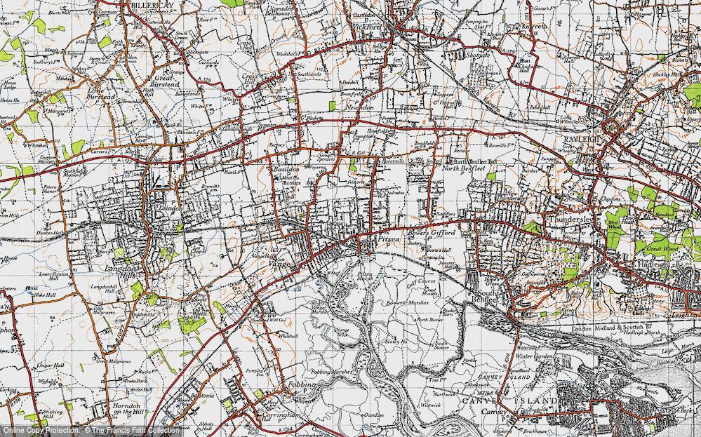 Pitsea, 1945