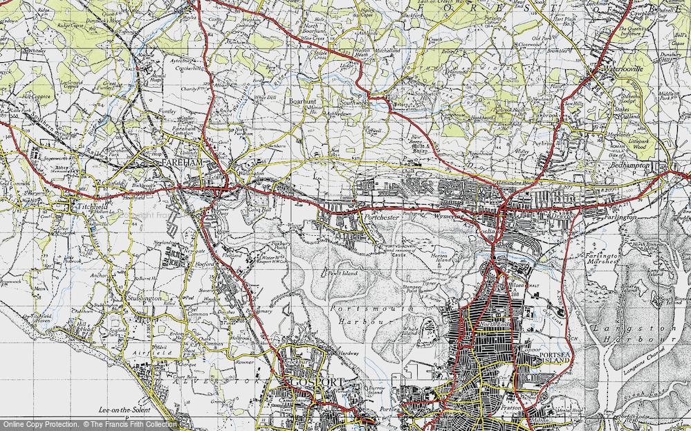 Portchester, 1945