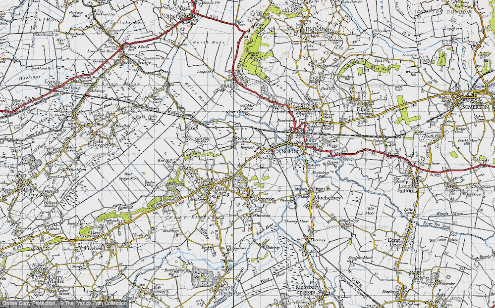 Old Map of Portfield, 1945 in 1945