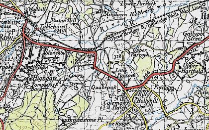 Old map of Ashdown Ho (Sch) in 1946