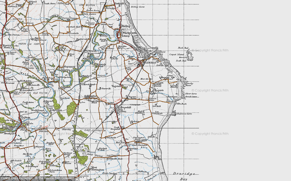 Old Map of Radcliffe, 1947 in 1947