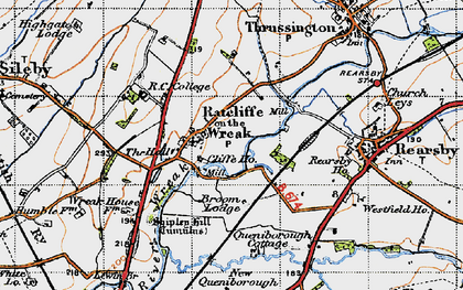 Old map of Lewin Br in 1946