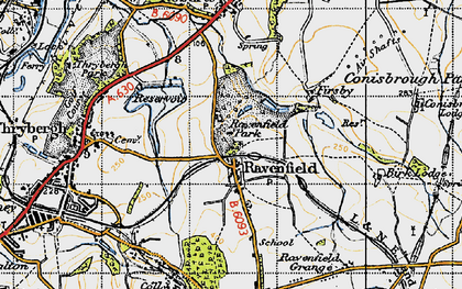 Ravenfield photos, maps, books, memories - Francis Frith