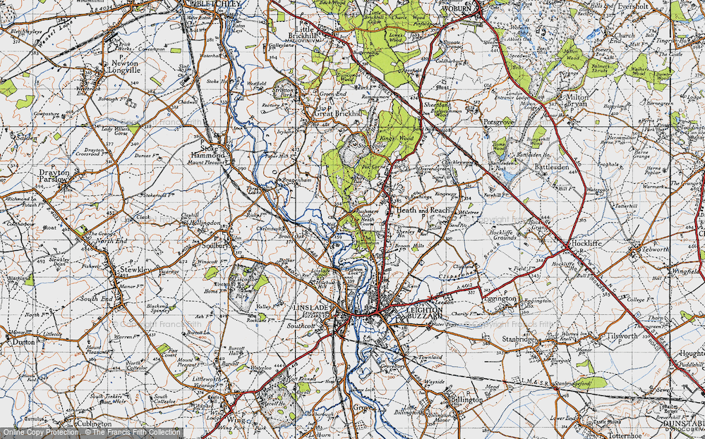 Old Map of Rushmere, 1946 in 1946
