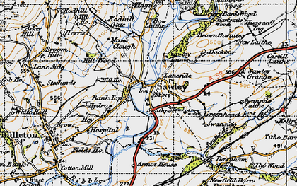 Old map of Lawson Ho in 1947