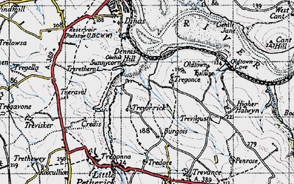 Old map of Sea Mills in 1946