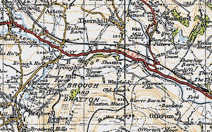 Old map of Bamford Sta in 1947