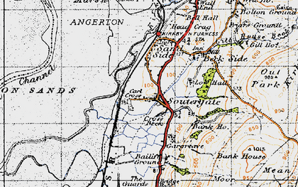 Old map of Bailiff Ground in 1947