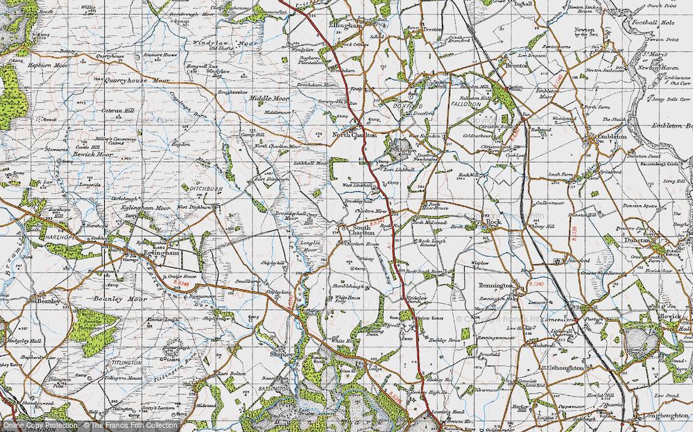 South Charlton, 1947