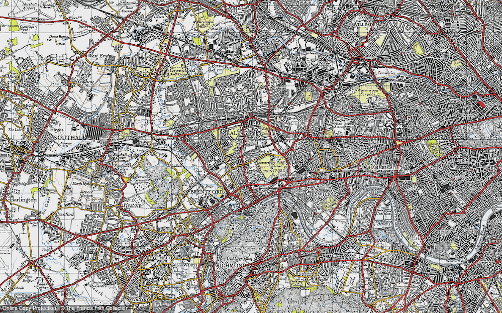 South Ealing, 1945
