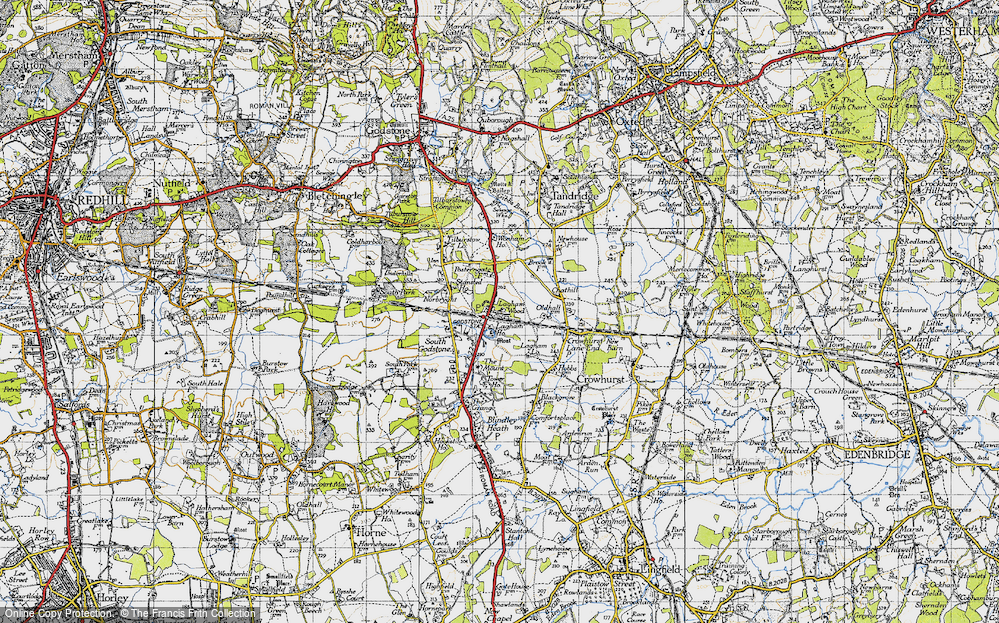 Old Map of South Godstone, 1946 in 1946