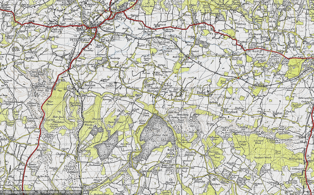 South Harting, 1945
