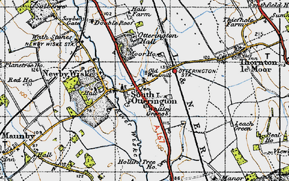 Old map of Whitley Grange in 1947